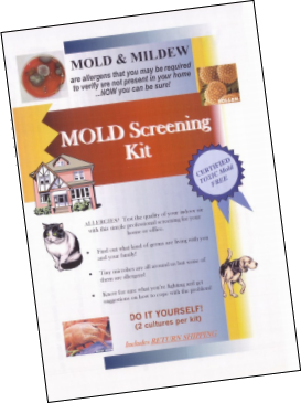 BLS Mold Screening Kit with Lab Report